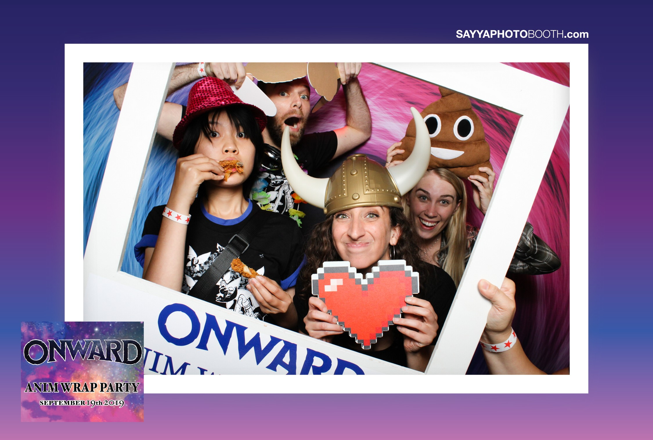 Onward Anim Crew Party