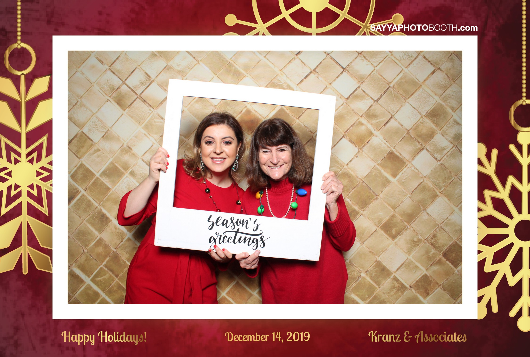 Kranz & Associates Holiday Party