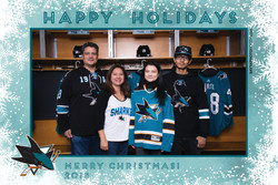 Sharks STH Holiday Photos 7:30-8PM