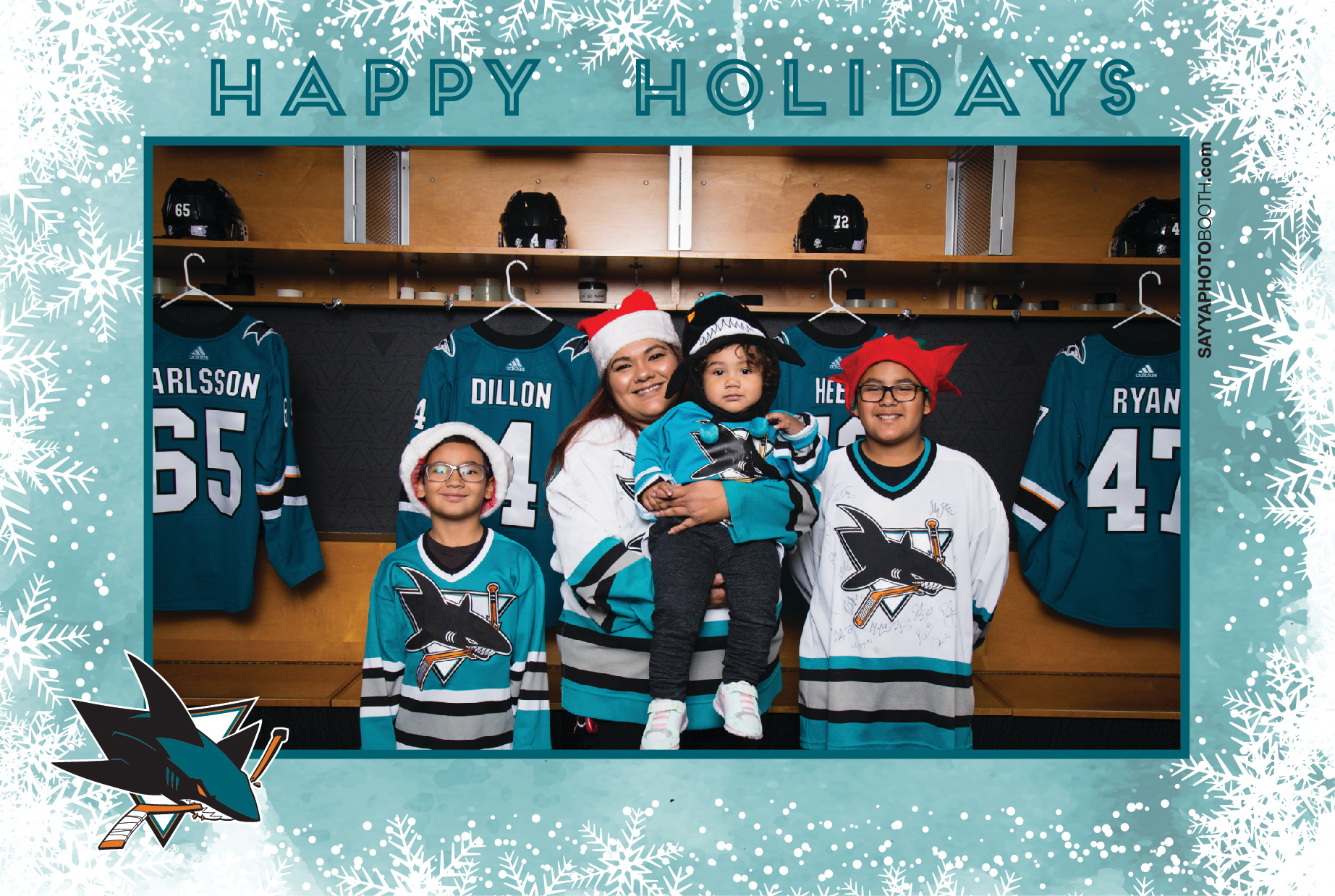 Sharks STH Holiday Photos 6-6:30PM
