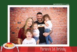 Mariano's 1st Birthday