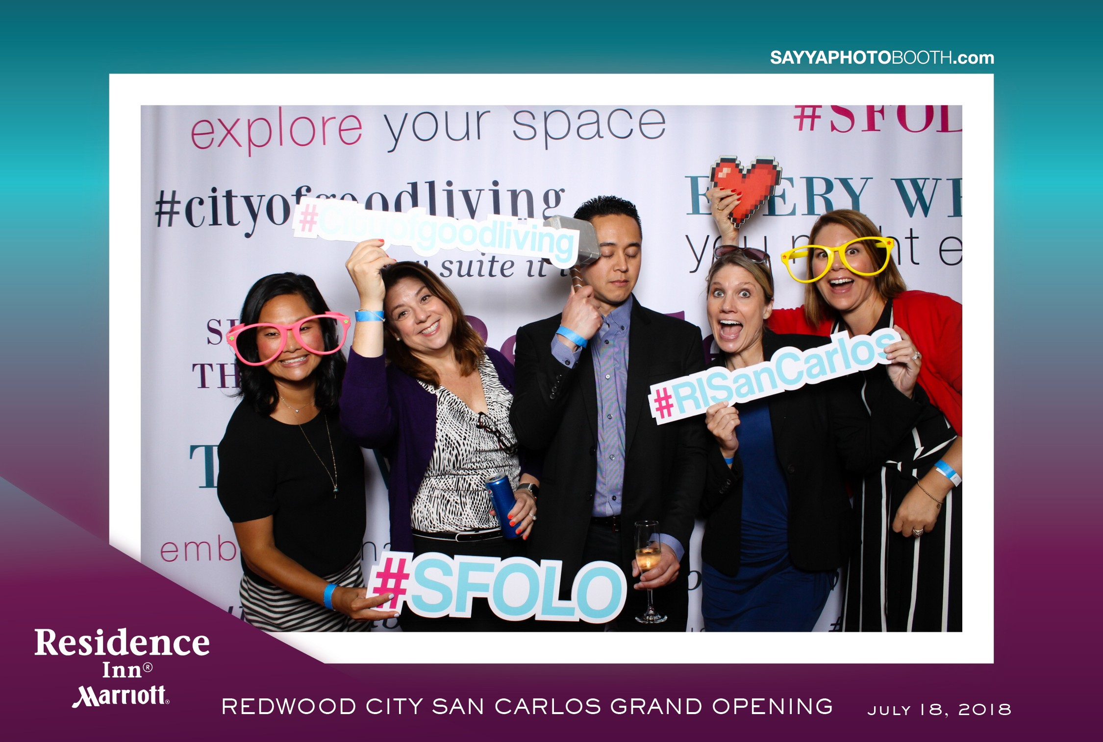 Redwood City San Carlos Grand Openin