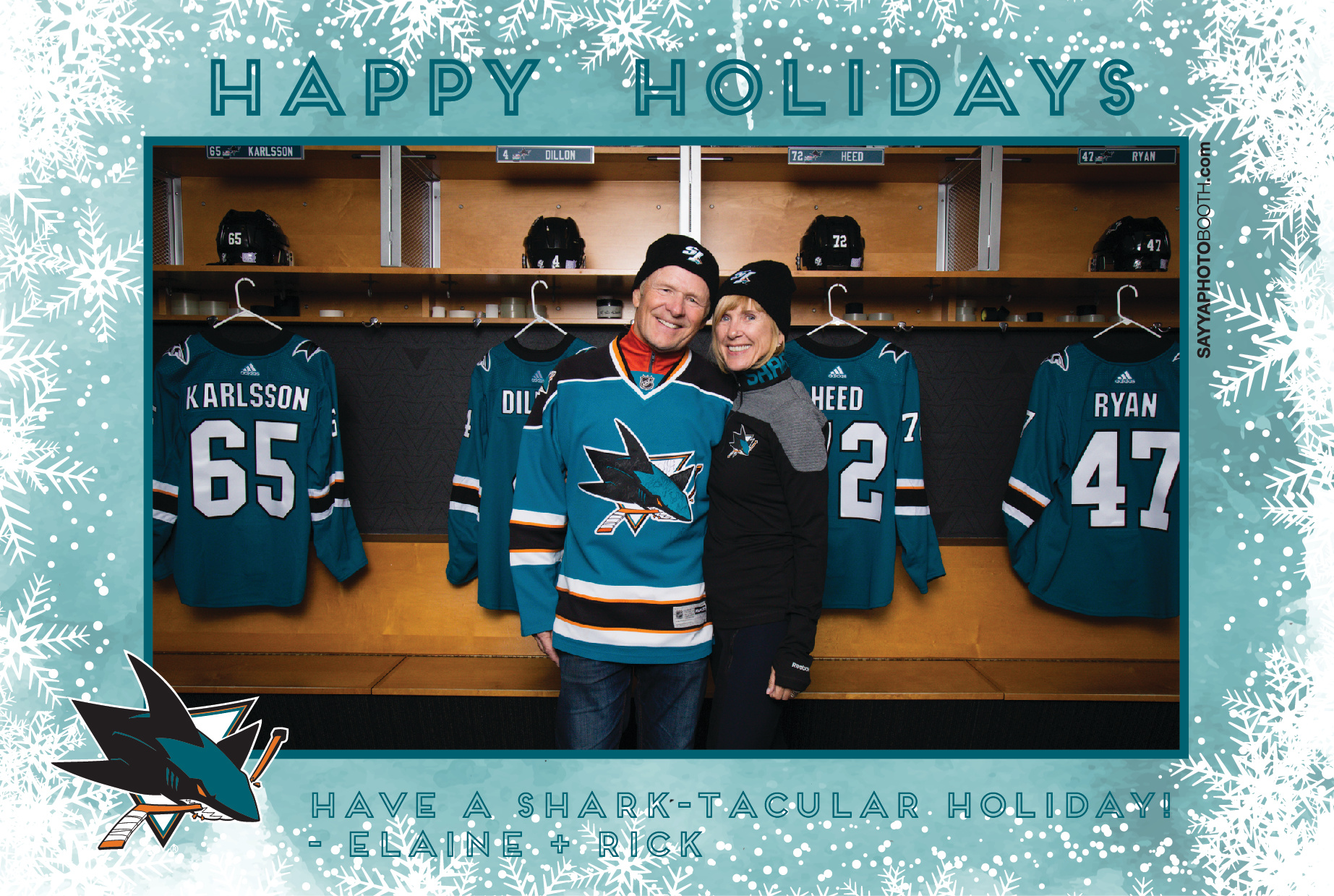Sharks STH Holiday Photos 5:30-6PM