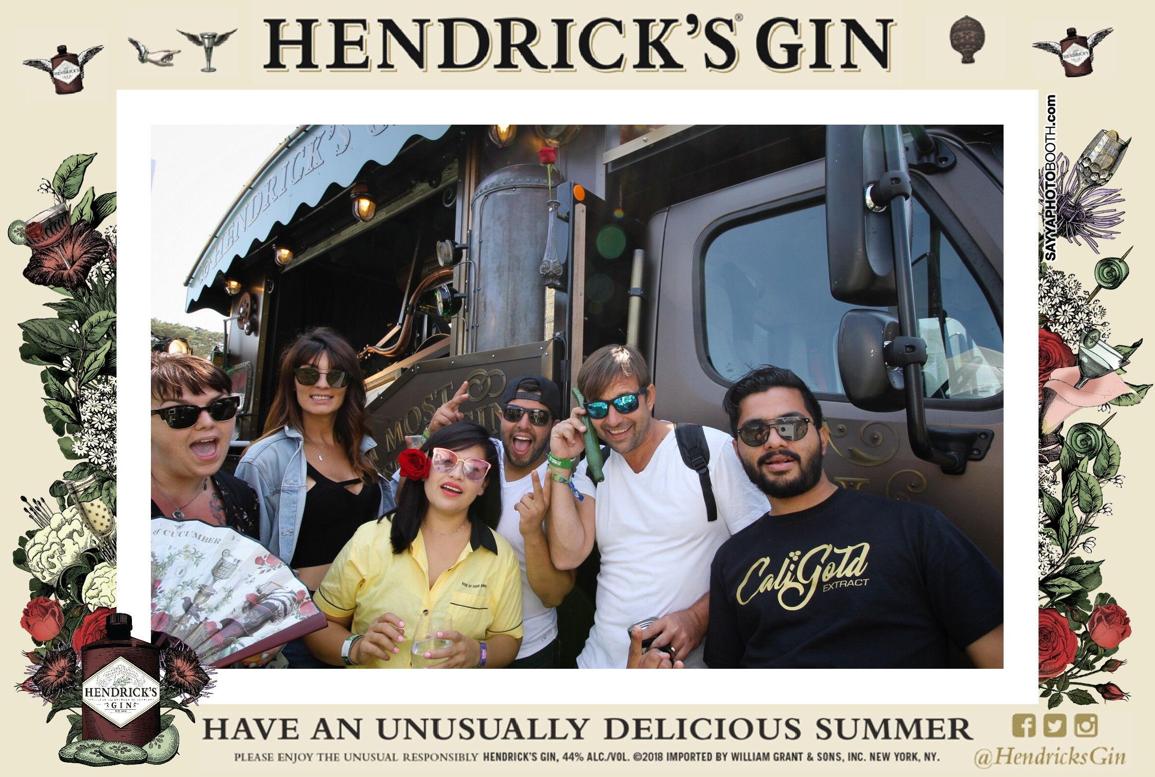 Outside Lands - Hendrick's Gin Day 2
