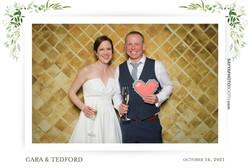 Cara and Tedford's Wedding