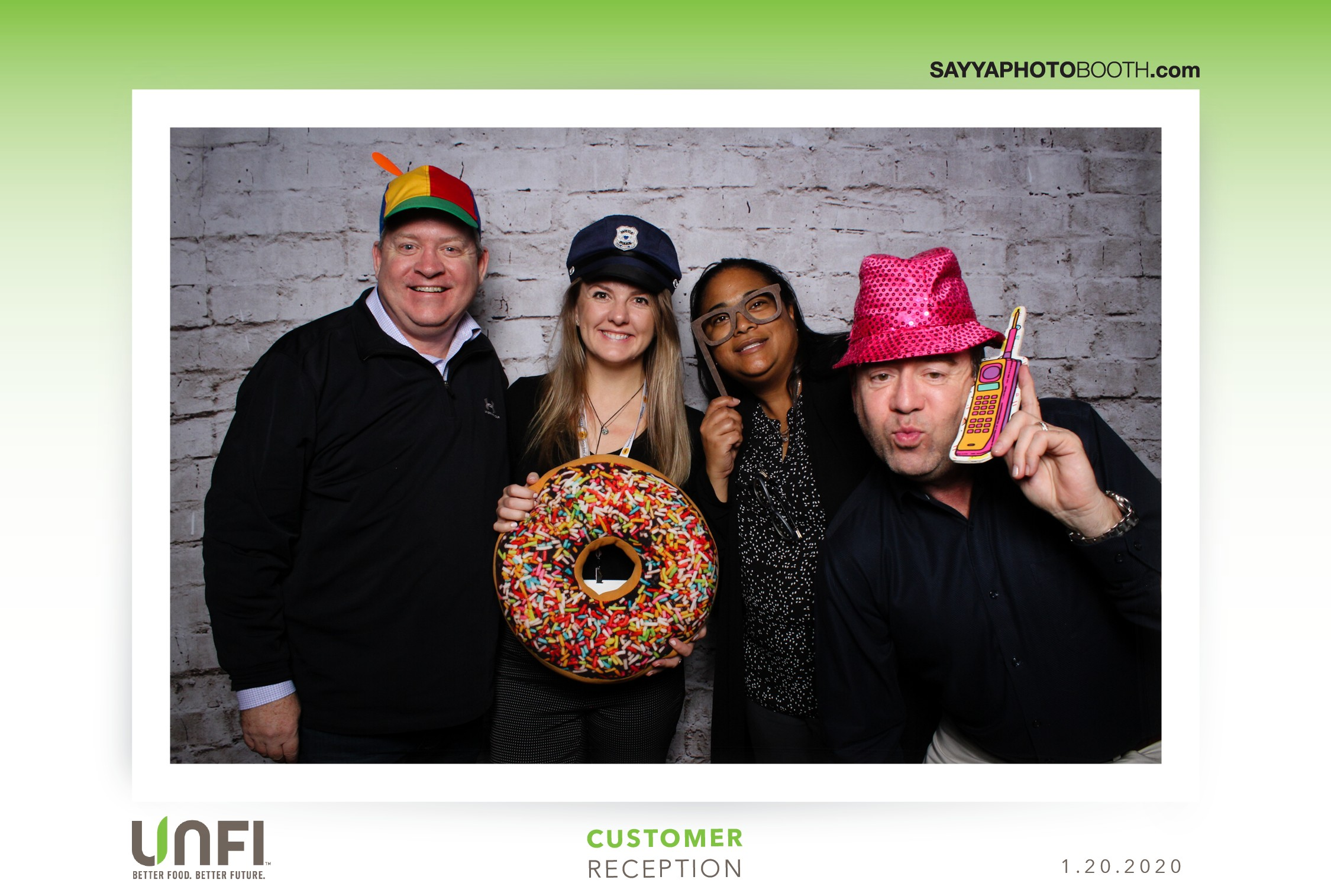 UNFI Customer Reception