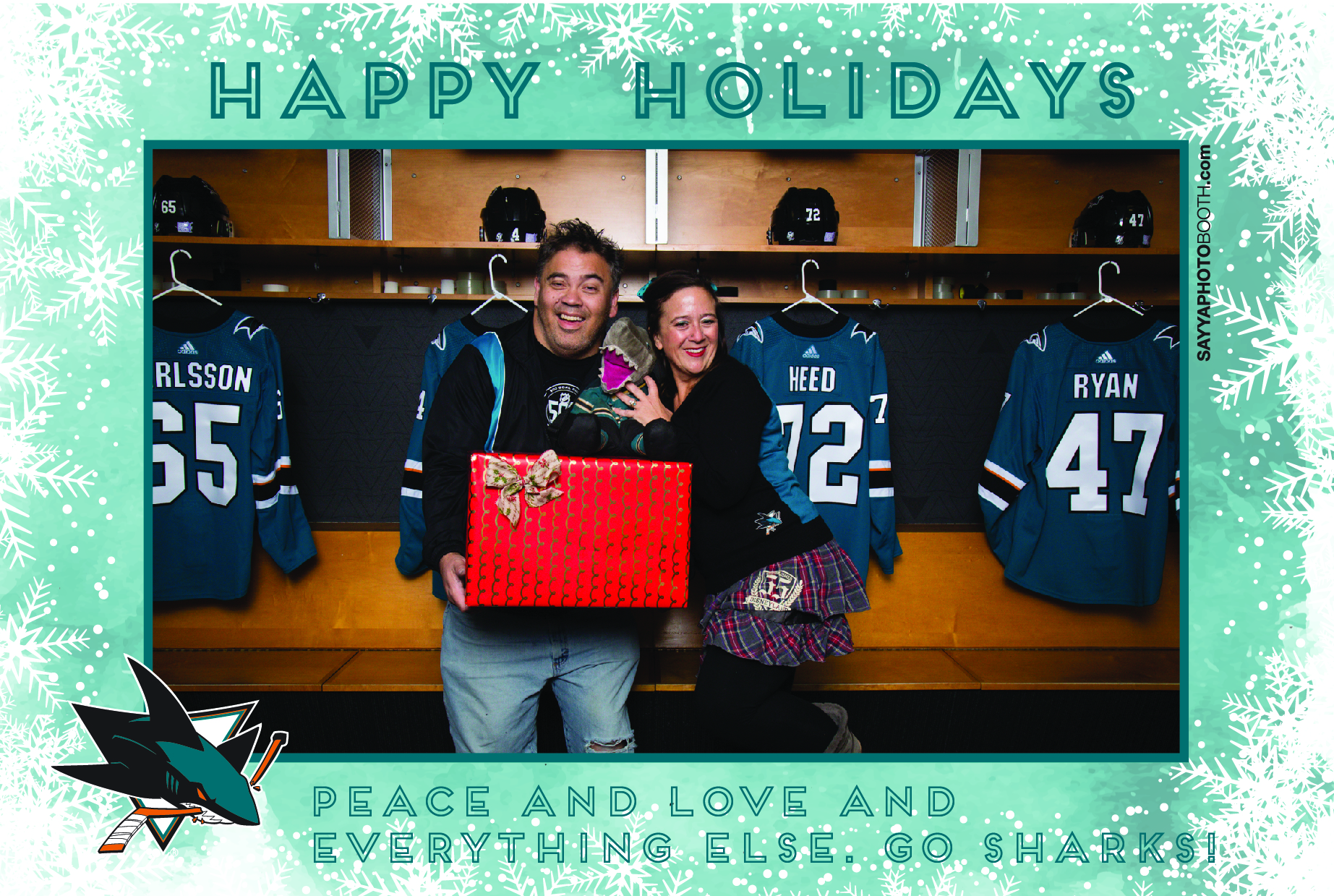 Sharks STH Holiday Photos 8:30-9PM