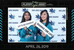 SJ Sharks Playoff Street Rally