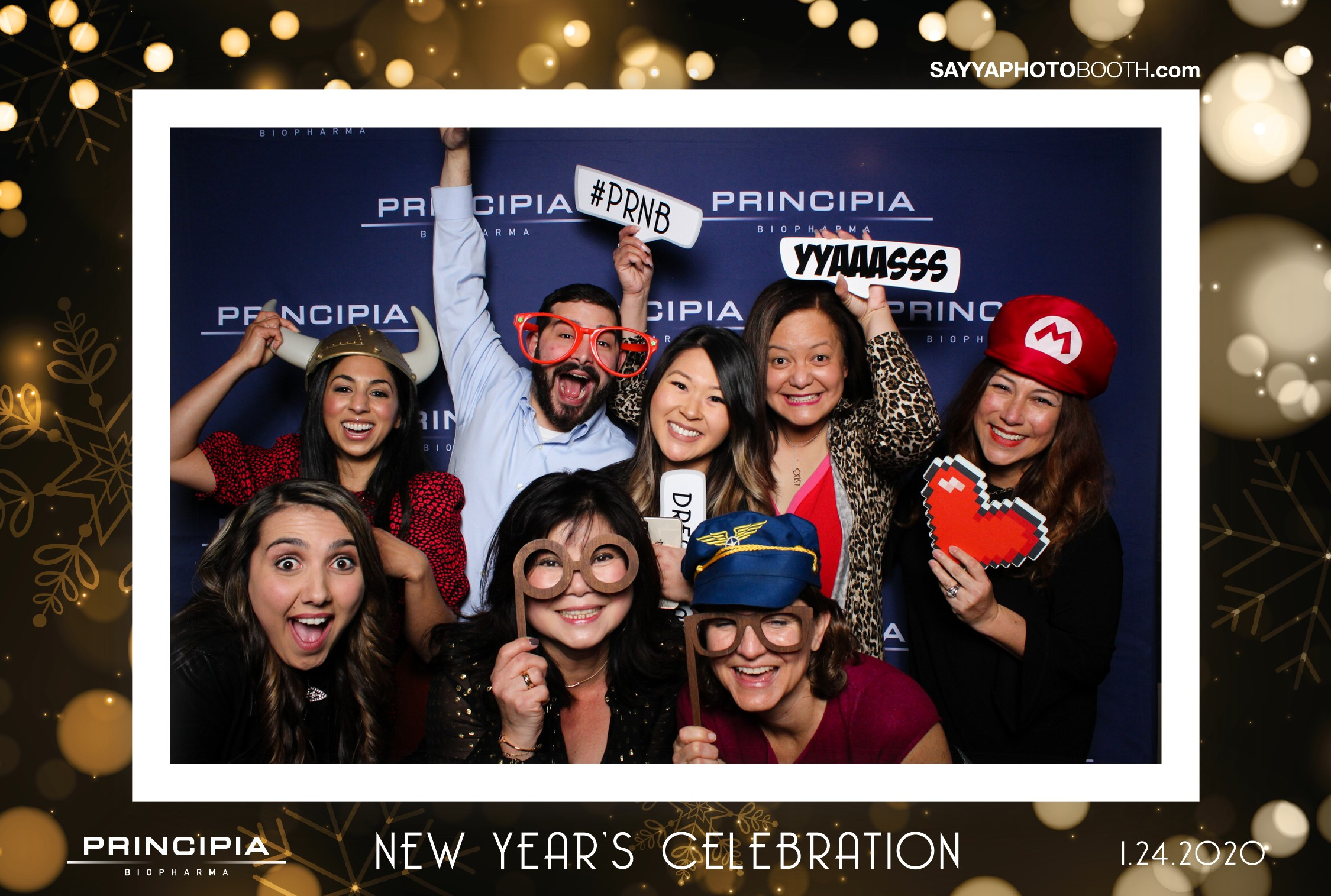 Principia Biopharma New Years Party