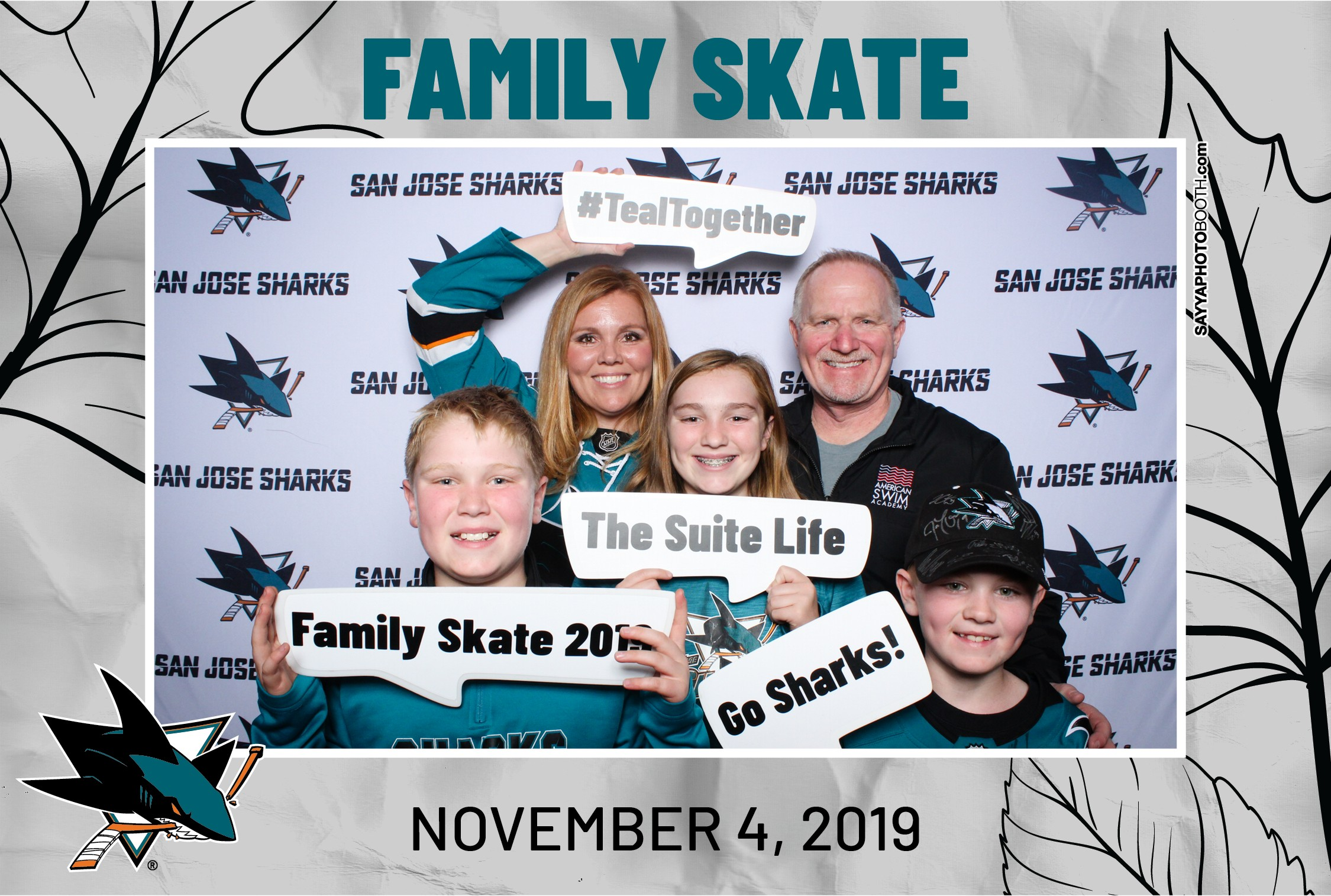 Holiday Skate for Sharks STH