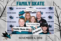 Holiday Skate for Sharks STH