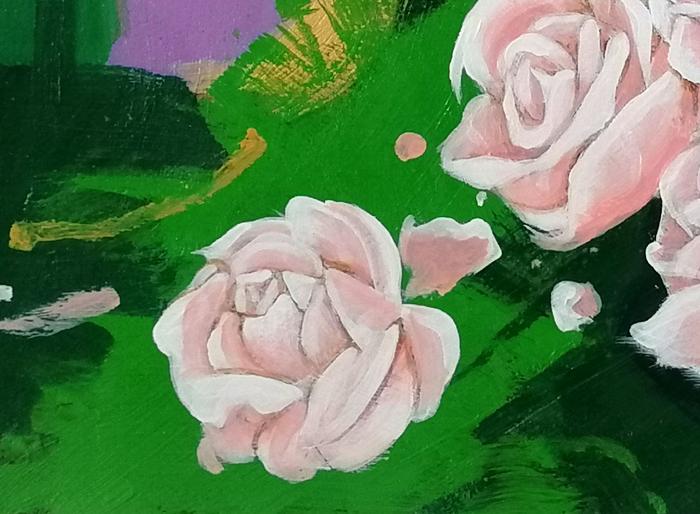 rose particolare