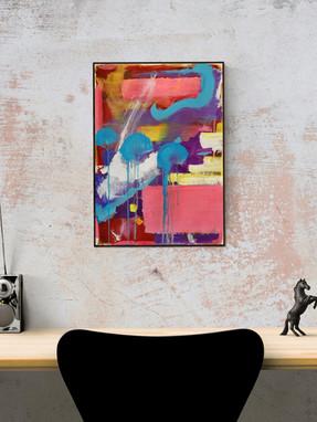Dipinto espressionista