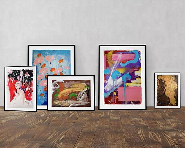 Immagini di dipinti, floreali, astratti, nudi, file jpg gratuito