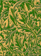 Sacriste After Morris Mordore, verde