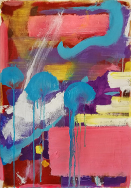 Dipinto espressionista da arredo