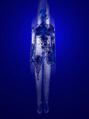 Figura Celeste 1 blu