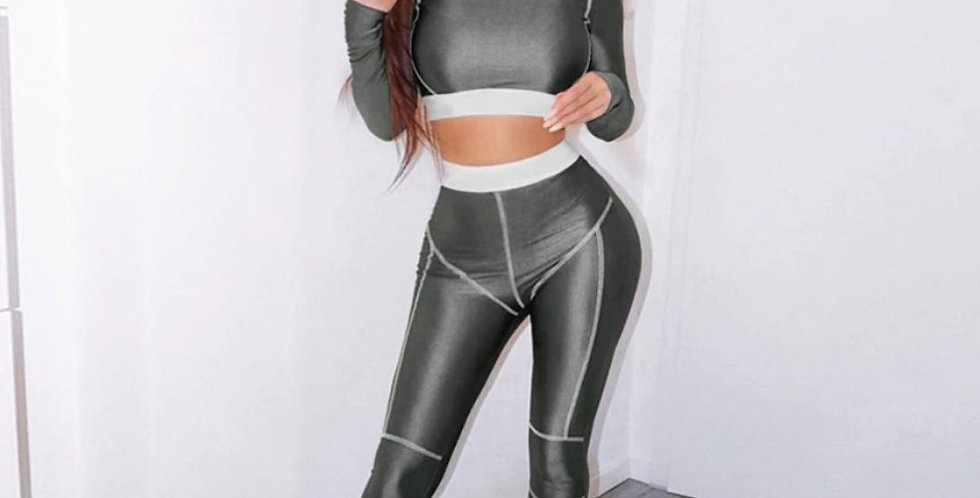 Fitness Sporty Active Wear Tracksuit