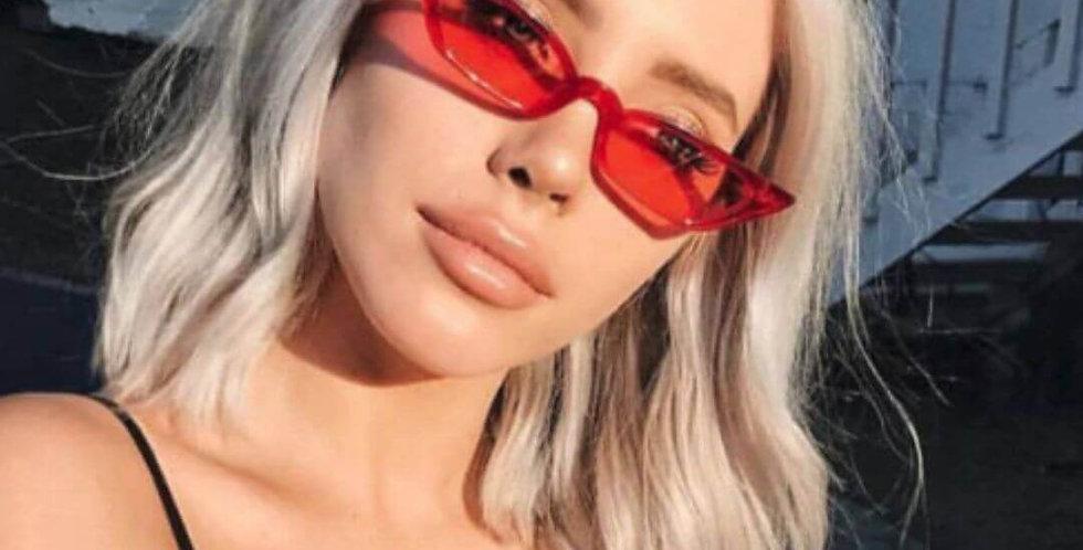 Cat Eye Red Sunglasses