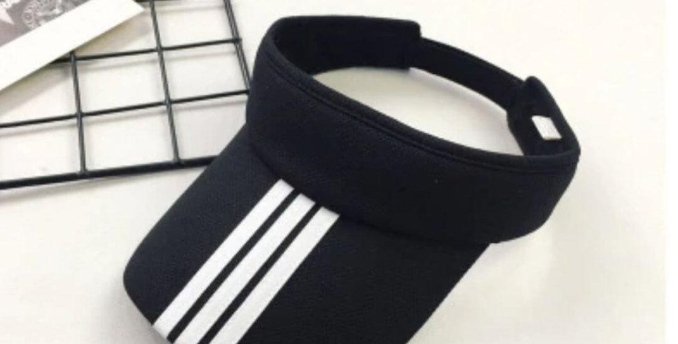 Adjustable Summer Fashion Black Hat