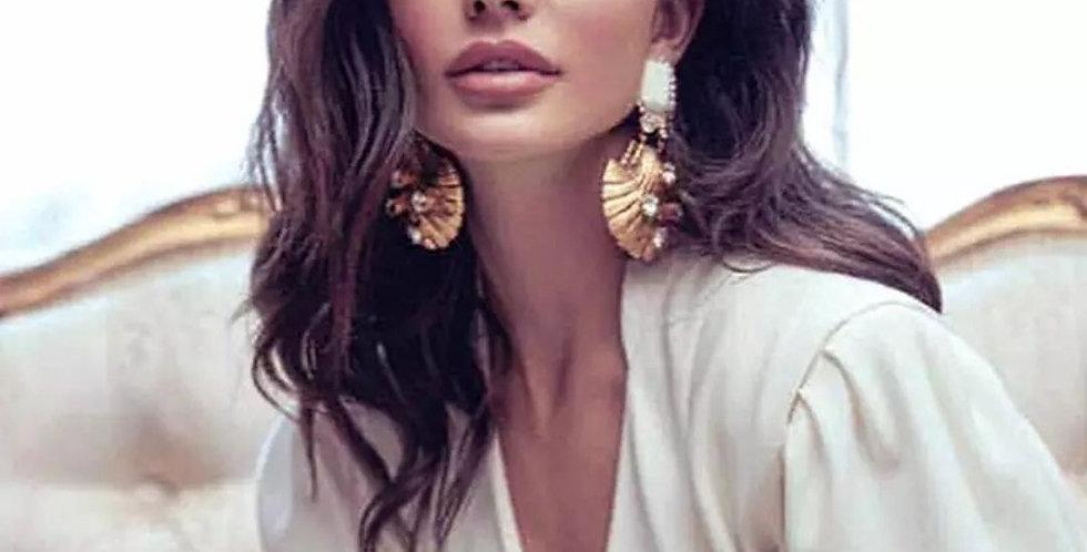 Fashion Brand Drop Dangle Earrings