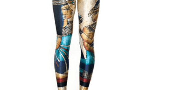 Cleopatra Fashion 3D Printed Legging