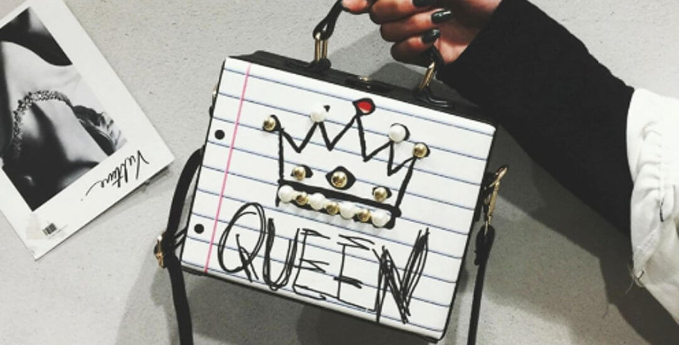 Queen Fashion Letter Bag