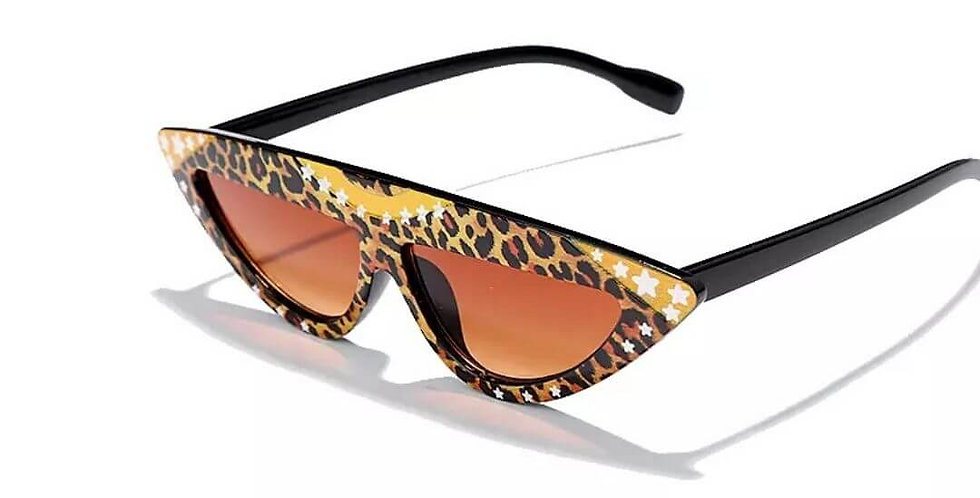 Colorful Cat Eye Retro Triangular Sunglasses