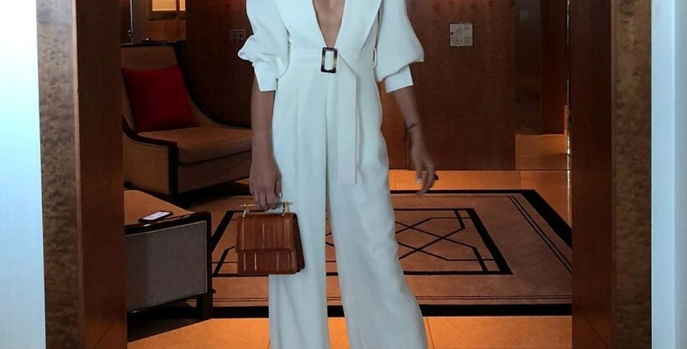 New Style Elegant White Jumpsuit