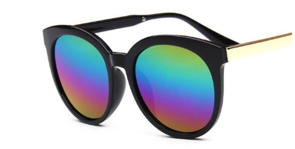 Vintage Luxury Candy Color Lens Sunglasses