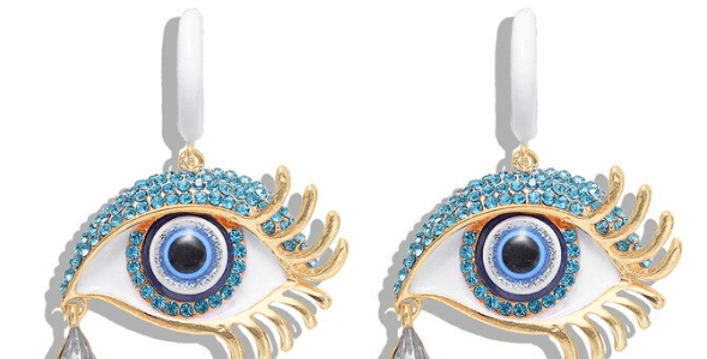 Fashion Unique Eye Drop Earrings