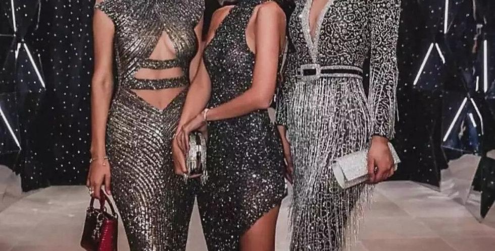 Upsurge Tassel Novelty Maxi Dress