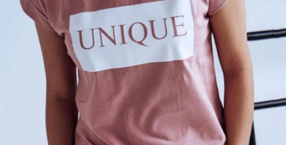 Elegant Unique Print Cotton T-Shirt