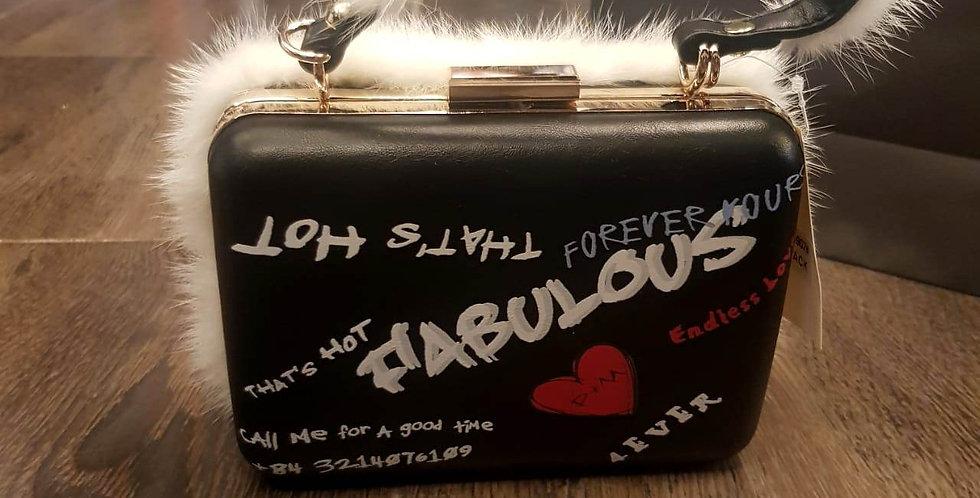 Fabulous Trendy Fur Handbag
