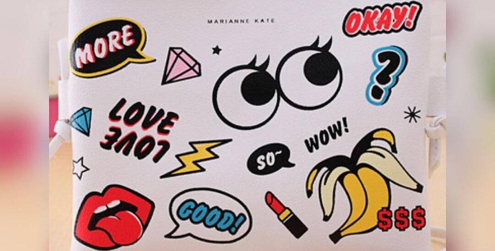 New Fashion Cartoon Graffiti Bag