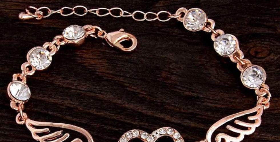 Luxury Rose Gold Chain Link Bracelet