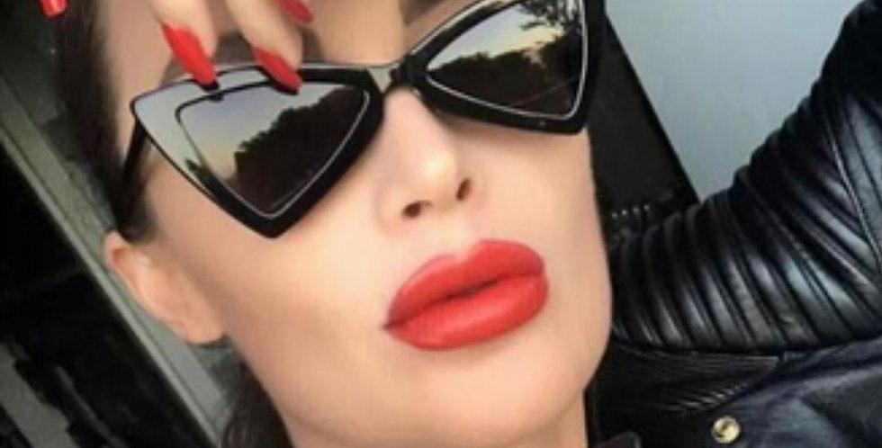Vintage Cat-eye Frame Sunglasses