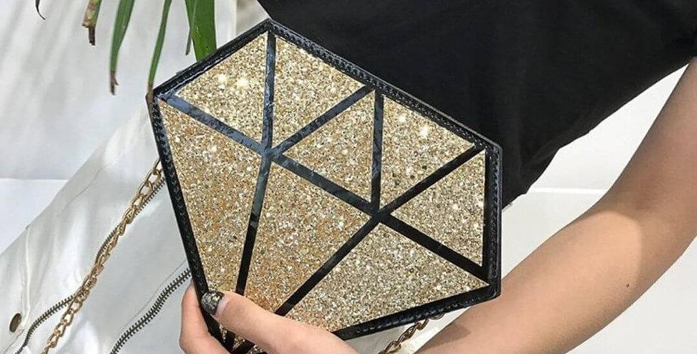 Diamond Shape Shoulder Bag