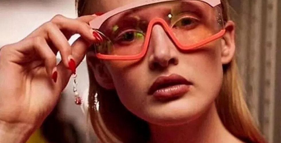 Brand Designer Square Fashion Sunglasses