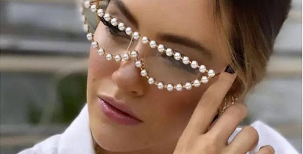 Cat Eye Luxury Brand Diamond Sunglasses