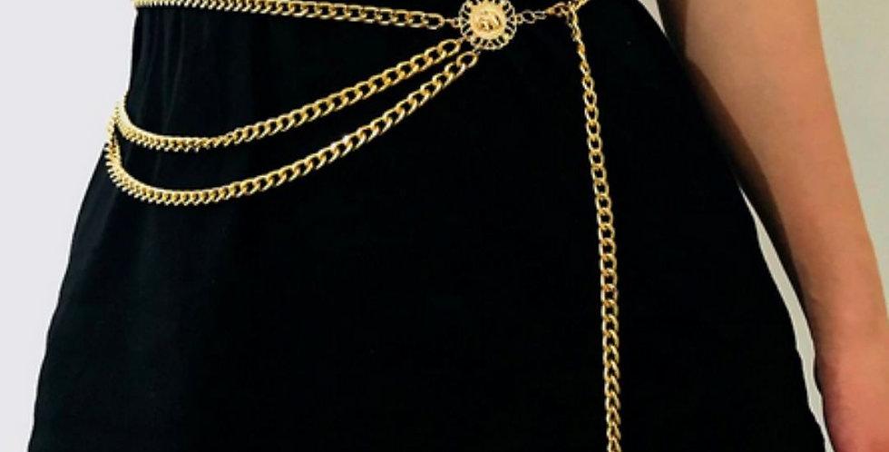 Fashion Waistbands Long Tassel Belt