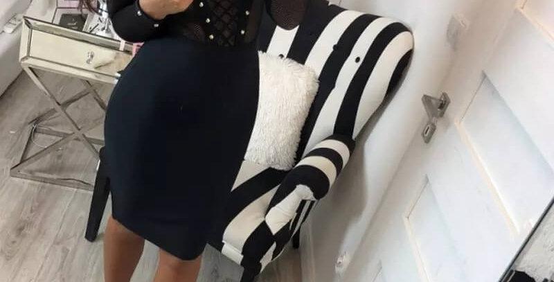 Black Sexy Party Bodycon Dress