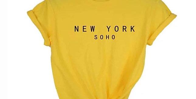 New York Soho Cotton T-Shirt