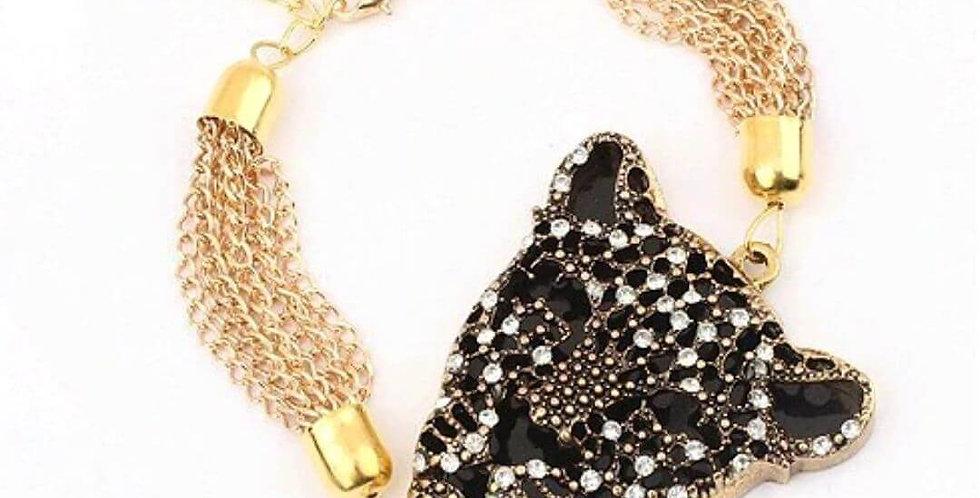 Leopard Luxury Refined Gold Bracelet