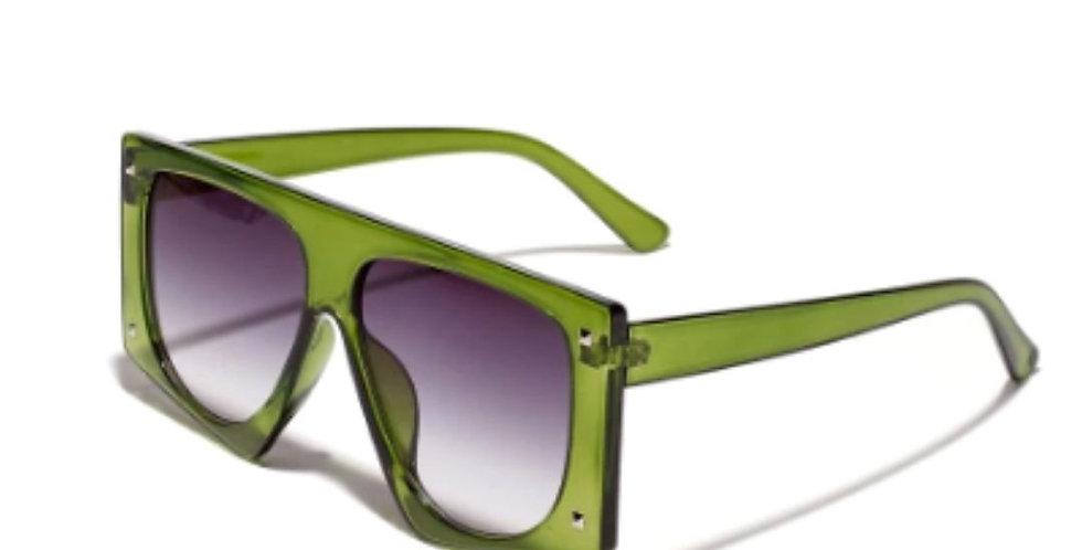 Vintage Designer Luxury Polygon Shades Sunglasses