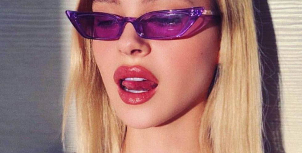 Cat Eye Purple Sunglasses