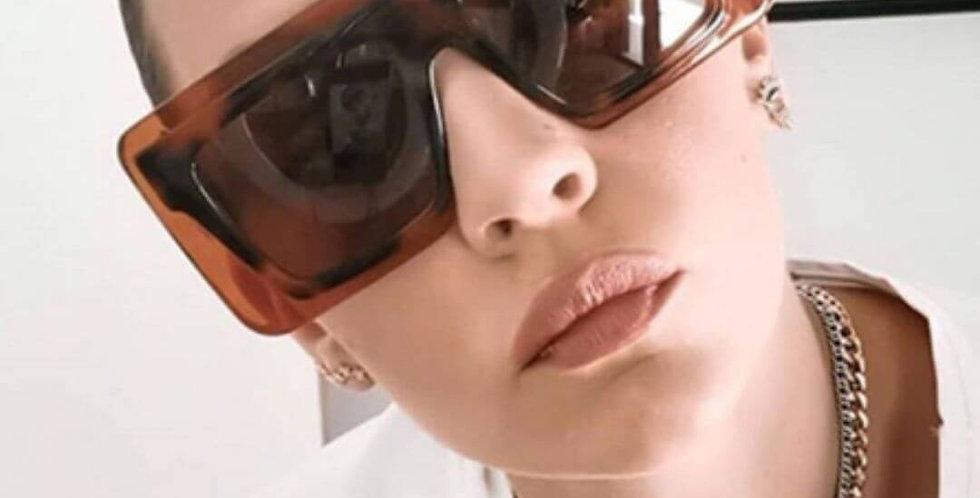 Big Frame Square Brand Design Sunglasses