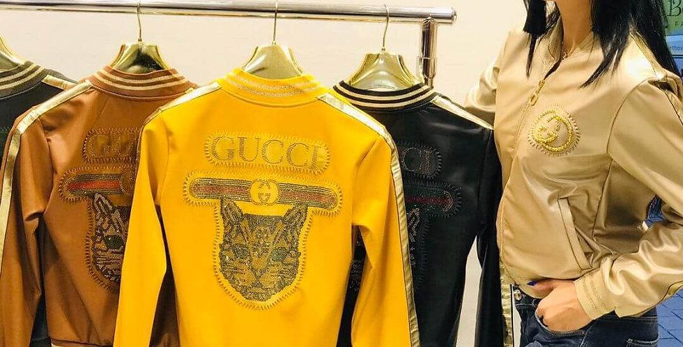 Gucci Stylish Leather Jacket