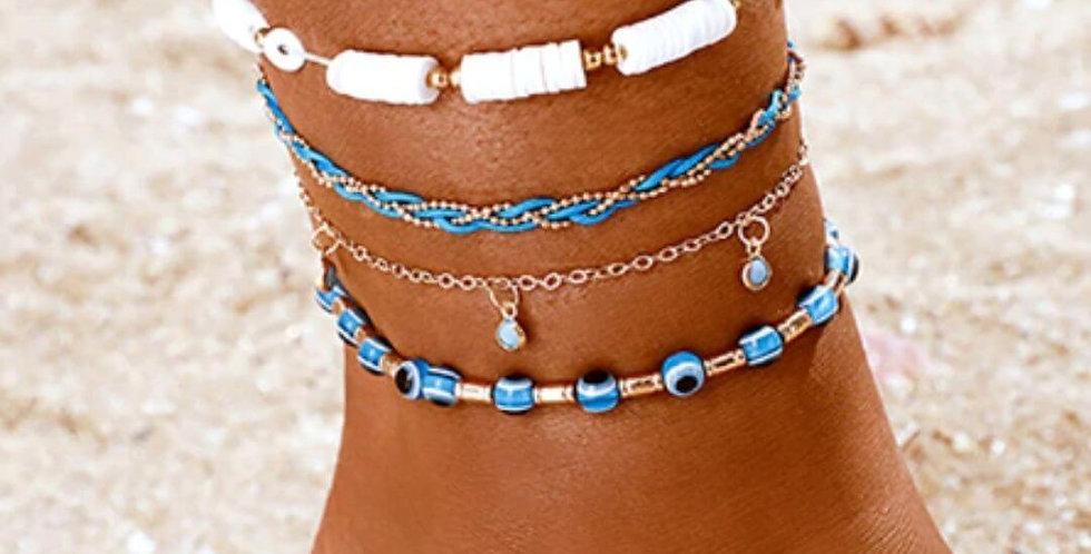 Bohemian Shell Ankle Bracelet Foot Jewelry