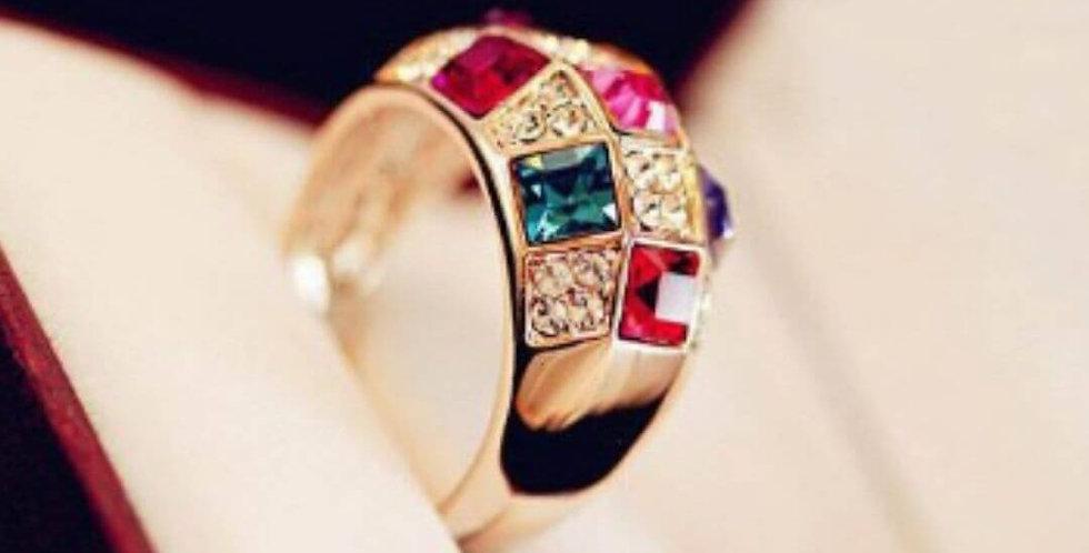 Fashion Crystal Rhinestone Ring